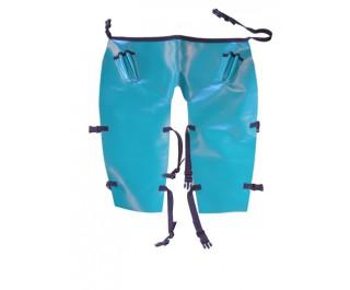 Short PVC Apron + leg straps