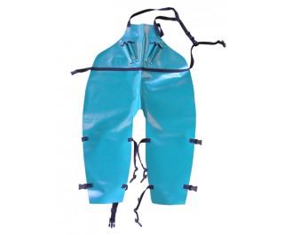 Long PVC Apron + leg straps
