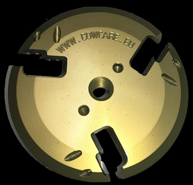 CowCare Disc Aluminium, open