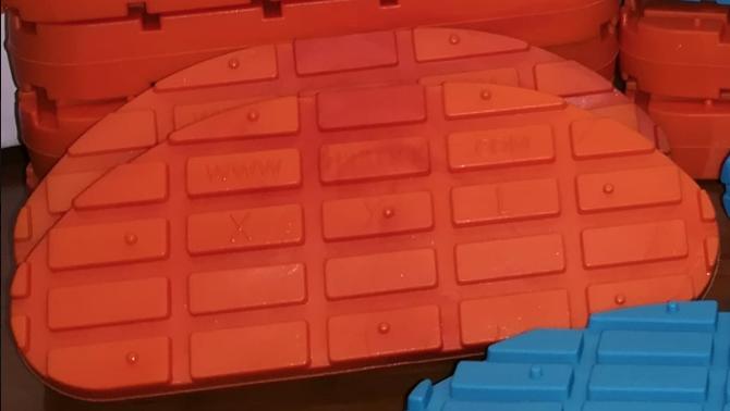 TP BLOCK arancione XXL