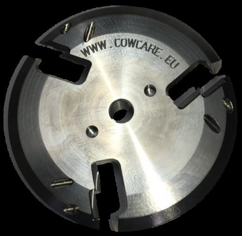 CowCare Disc Titanium, open front