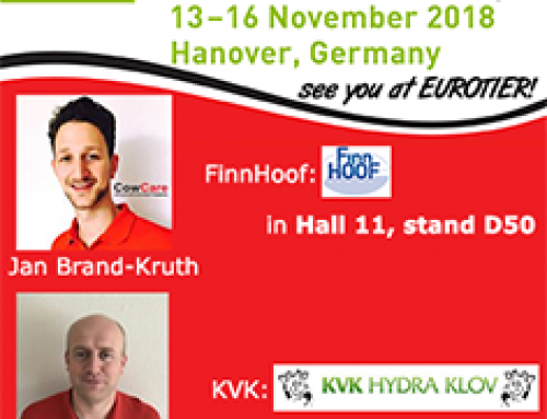 From Tuesday 13 till Friday 16 November the EUROTIER 2018 exhibition