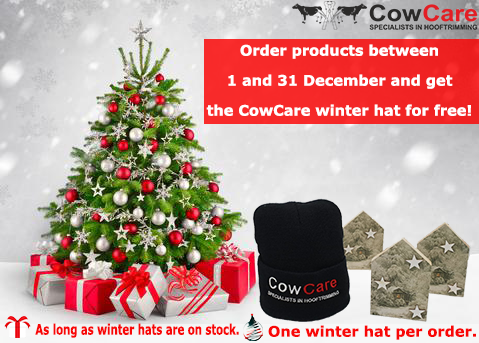 CowCare winter hat