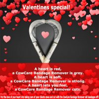 Valentines special! CowCare Bandage Remover