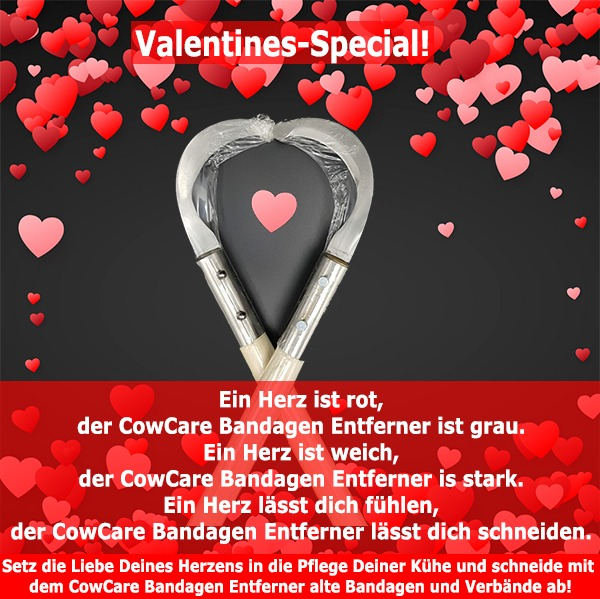 CowCare Bandage Remover Valentines special