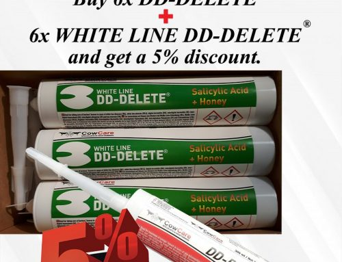 CowCare introduces WHITE LINE DD-DELETE®