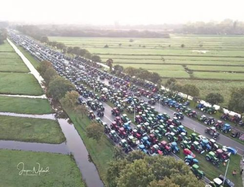 The biggest farmer protest ever in the Netherlands