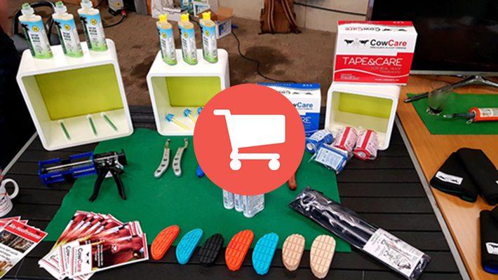 CowCare online winkel voor klauwbekapboxen en klauwbekap producten