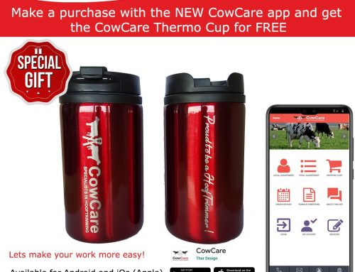 CowCare thermo cup, for online buyers!