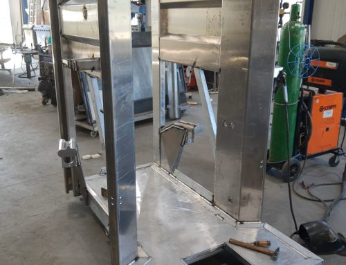 New Alu-Hooftrimmer CC01 under construction for the Italian market!