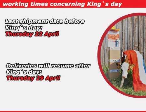 CowCare will be closed on King`s day!