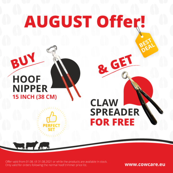 BUY HOOF NIPPER 15 INCH (38 CM) and get CLAW SPREADER for free